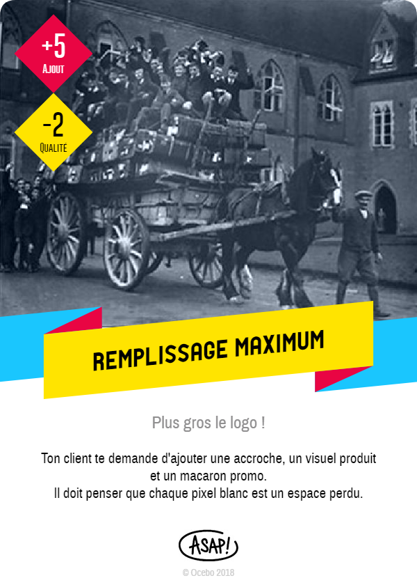 remplissage maximum